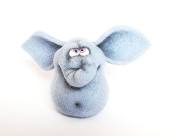 Felt doll - Handmade toys - Needle felting - Miniature - Felt toys - Figurines - Eco friendly - Personalised gifts - for her - gifts for men
