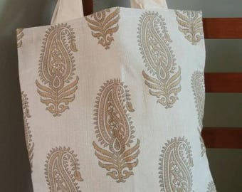 Beautiful neutral tote
