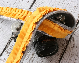 Camera Strap. Ruffle Camera Strap. dSLR Camera Strap. Cute Camera Strap. Padded Camera Strap. Custom Camera Strap. Camera Neck Strap