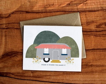 Home is Where you Make it Card