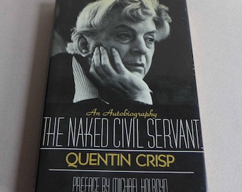 The Naked Civil Servant by Quentin Crisp Hardcover 1977