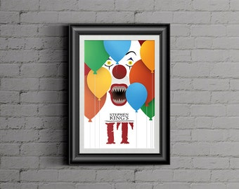 Stephen King IT - Pennywise Tim Curry Horror