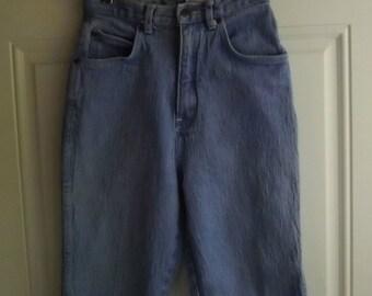 5-Pocket High Waist Stretch Jeans by Pure Jeanswear, Size 7, Vintage 80's
