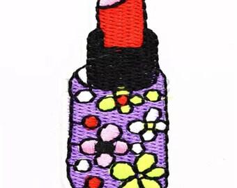 Red Lipstick  Applique  AM9