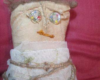 Worry Grunge Prim Doll. Little Bessy Mae