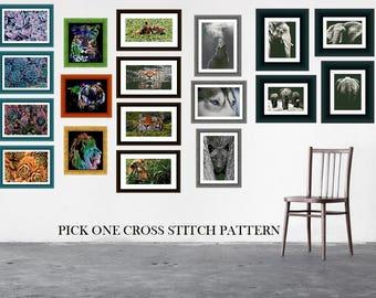 Single Cross Stitch Pattern - Pick A Pattern