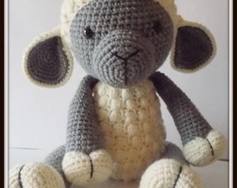 Crochet Lamb Amigurumi, Lamb Doll, crochet toy, Handmade doll