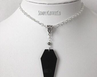 Gothic Coffin Necklace
