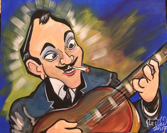 Django Reinhardt (2017) by Mark Redfield