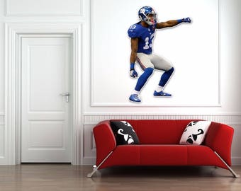 Odell Beckham Jr wall decal Large 24 inch Indoor/ Outdoor