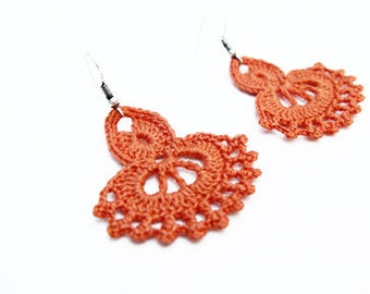 PDF Tutorial Crochet Pattern...Dangle Earrings -23