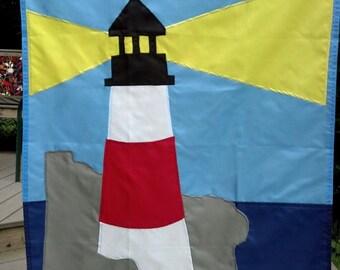 Lighthouse Garden Flag
