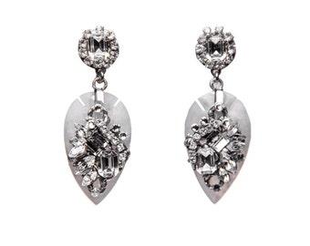 Wedding Earrings, chandelier earrings, bridal earrings, vintage wedding, crystal earrings, swarovski earrings, bridal jewelry