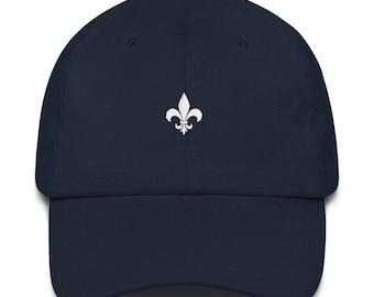 Fleur De Lis Dad Hat - Fleur De Lis - Fleur De Lis Hat - Louisiana Hat - Louisiana Dad Hat - Louisiana - New Orleans - New Orleans Saints