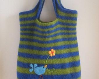 Blue Bird Overnighter Bag