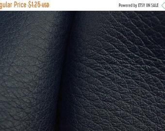 "Boss Sale Midnight Blue Leather New Zealand Deer Hide 4"" x 6"" Pre-cut 4-4 1/2 oz-4 CA-67417 (Sec. 3,Shelf 5,A,Box 2)"