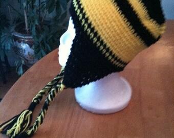 Chapeaux, casquettes, chapeaux de Rabat, chapeaux avec des liens, noirs, or, au crochet, accessoires pour hommes, accessoires femmes, accessoires