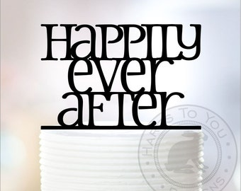 Happily Ever After Wedding Cake Topper 12-235