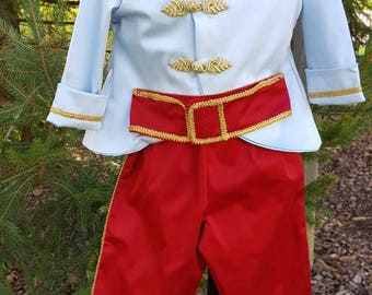 Cinderellas Prince  Charming in Light blue and red