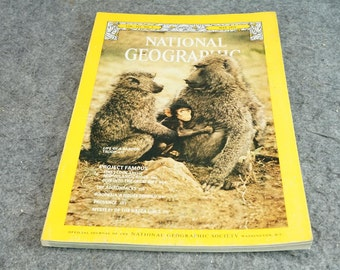 National Geographic Magazine 1975 May