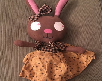 Cute Primitive Rabbit..Bunny