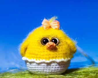 Crochet pattern Chicken in egg