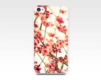 iphone 5s case blossom iphone 6 case vintage floral photography fine art iphone 4s case botanical iphone case 4 flower iphone 5 case pink