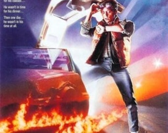 Wall Art, Movie Poster, Back To The Future poster 11 x 17
