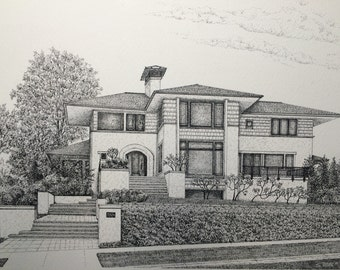 Commissioned Home Portrait Example