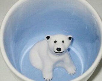 Polar Bear Surprise Mug