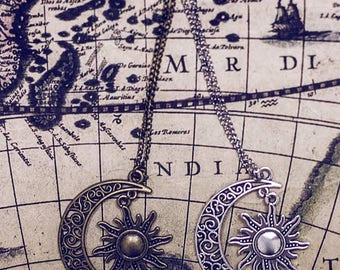 The Moon and the Sun necklace