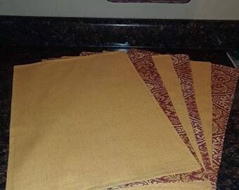 Handmade place-mats