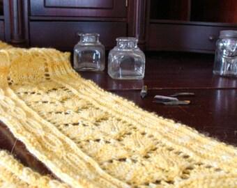 Emma Scarf Knitting Pattern