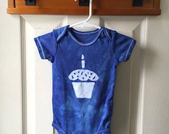 First Birthday Baby Bodysuit, Boy First Birthday, Girl First Birthday, Cupcake Baby Bodysuit, Baby's First Birthday Shirt (12 months)