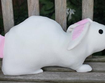 Large Bunny Rabbit Stuffed Animal, Large Bunny Plush Pillow, Rabbit Plush Pillow,Pillow for Children, Kids, and Teens