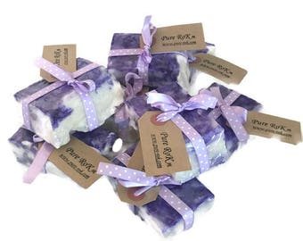 Lavender Soap - Lavender Gift - Floral Soaps - Wedding Favours - Mother's day Gift - Essential Oil Soap - Hand Made Soap - Soap Bar - Gift