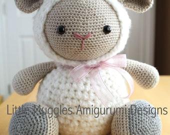 Amigurumi Crochet Pattern - Cuddles the Sheep