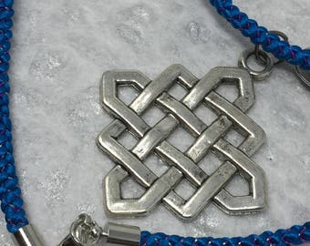 Kumihimo Necklace With Charm