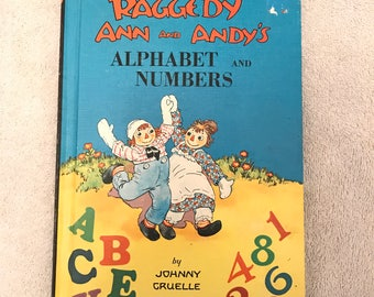 Vintage Raggedy Ann And Andy Book