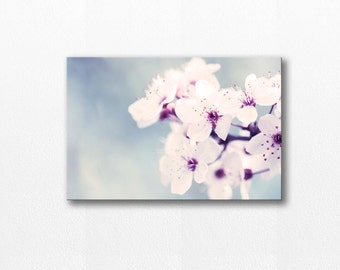 flower canvas art flower photography floral 12x12 24x36 fine art photography canvas print gallery wrapped botanical art large canvas blossom