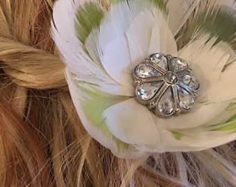Flowers in your hair... there can be flowers everywhere... hair accessory