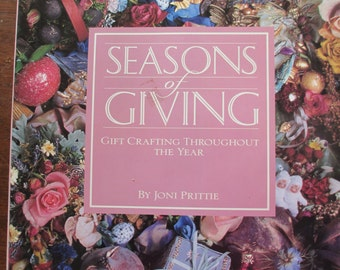 Vintage Hardbound Book Seasons of Giving Book 166 pages used good condition