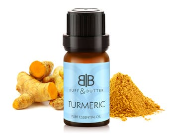 Turmeric (Curcuma Longa) Essential Oil 100% Pure Natural Fragrance Aromatherapy - 1ml Tester Vial, 10ml, 30ml, 50ml, 100ml Bottle