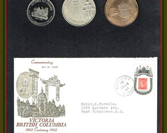 Victoria BC  Coins and Cover