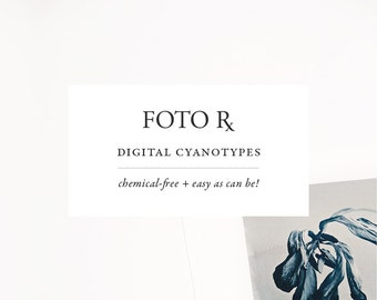 CYANOTYPES PHOTOSHOP ACTIONS