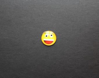 Original Smiley Emoji Emoticon glass 25mm cabochon