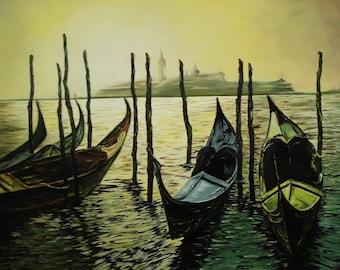 "Landscape ""Venice"""