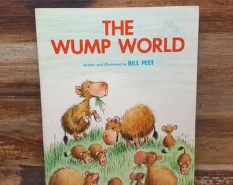 The Wump World, 1976 Bill Peet, vintage kids book