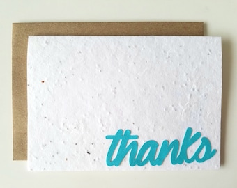 Plantable Thank You Cards - Pack of 10