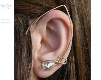 elvish earring.ear cuff.elvish ear- statement jewelry- statement jewelry